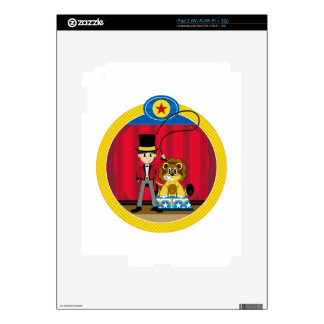 Bigtop Circus Ringmaster and Lion Skins For iPad 2