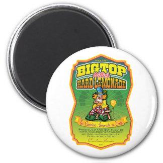 Bigtop Willie's Hard Lemonade Magnet
