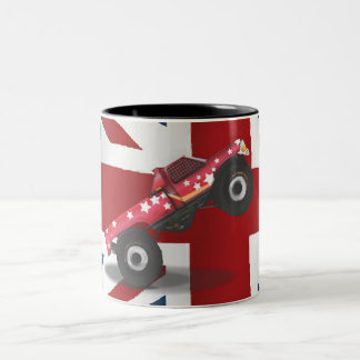 bigtruck Stallion UK Two-Tone Coffee Mug