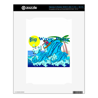 bigwaveriderpic.PDF Decal For The NOOK