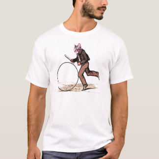 BigWheel Cat rolls T-Shirt