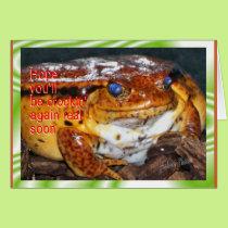 BigYellerFrog-customize it Card