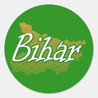 Bihar Classic Round Sticker