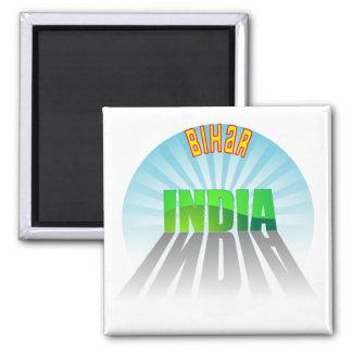 Bihar 2 Inch Square Magnet