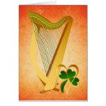 Biig Irish Harp and Heart Of Gold