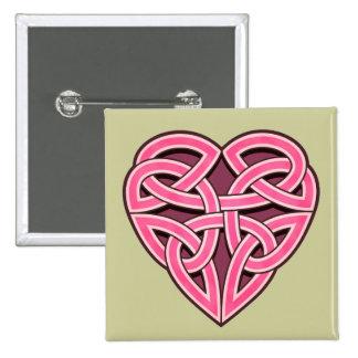 Bijii Heartknot Square Button