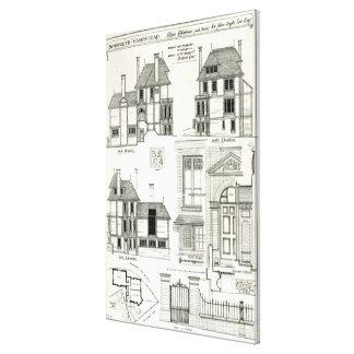 Bijou Residence Sunnycote, Hampstead, Canvas Print