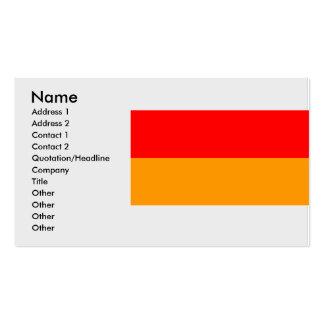 Bikaner, India Business Card Template