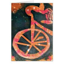 Bikathon - greeting card - bike