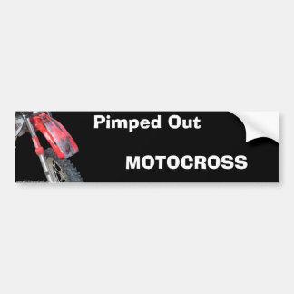 bike23, MOTOCROSS, Pimped Out Bumper Sticker