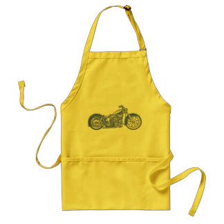 Bike 10-11 -blu adult apron