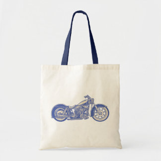 Bike 10-11 -blu tote bag