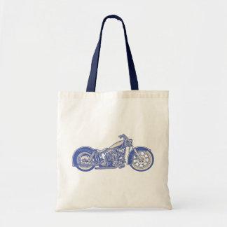 Bike 10-11 -blu tote bag