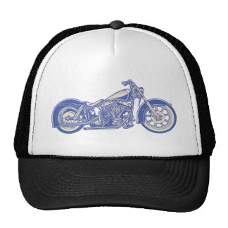 Bike 10-11 -blu trucker hat
