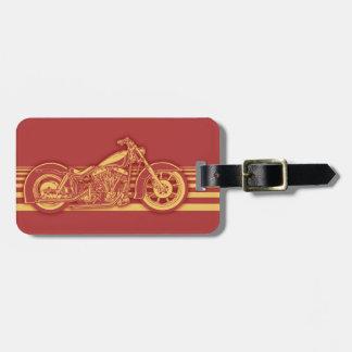 Bike 10-11 -red luggage tag