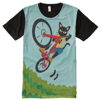 Bike action All-Over print t-shirt