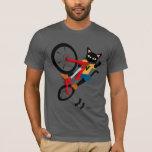 Bike Action T-shirt at Zazzle