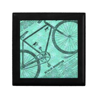 Bike Ad Keepsake Boxes