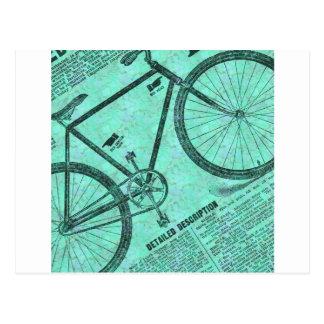 Bike Ad Postcard