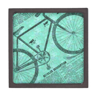 Bike Ad Premium Keepsake Box