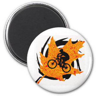 Bike Always Glide 2 Inch Round Magnet