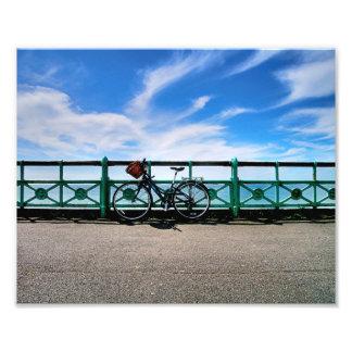 Bike and Basket Photo Art