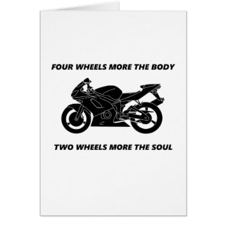 Bike and body soul card