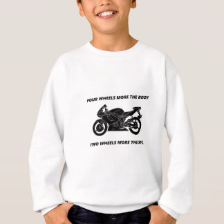Bike and body soul sweatshirt