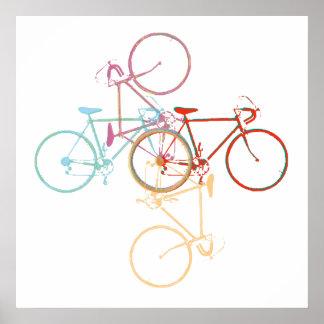 Bike-art / cycling-decor poster