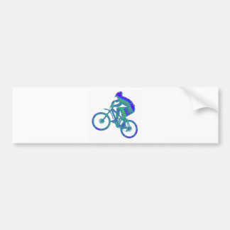 Bike Azul Azur Bumper Sticker