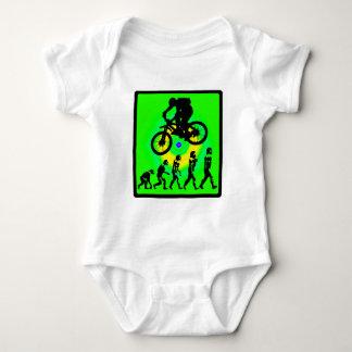 Bike Bald Screaming Baby Bodysuit