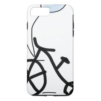 bike balloon party custom personalize Anniversary iPhone 8 Plus/7 Plus Case