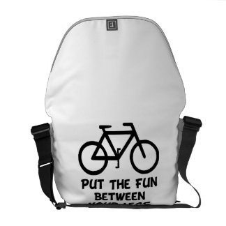 Bike Between Legs Courier Bags