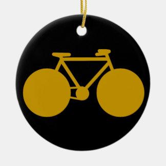 bike , bicycle ; biking / cycling ceramic ornament