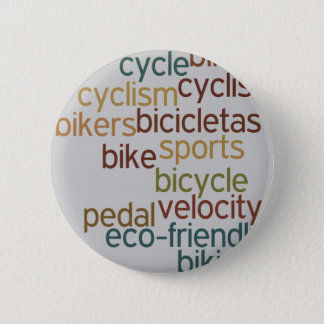 bike , bicycle ; biking / cycling pinback button