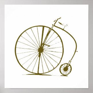 bike, bicycle; biking/cycling poster