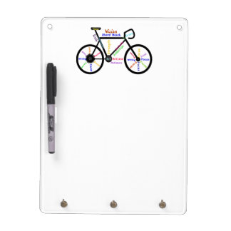 Bike, Bicycle, Cycle, Sport, Biking, Motivational Dry Erase Board
