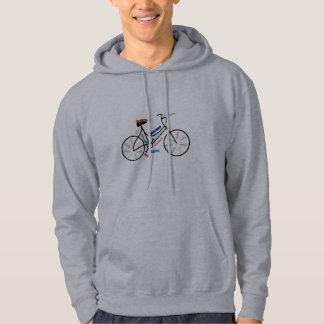 Bike, Bicycle, Cycle, Sport, Biking, Motivational Hoodie