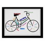 Bike, Bicycle, Cycle, Sport, Biking, Motivational Poster