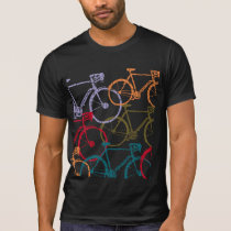 bike / bicycle cycling colorful T-Shirt