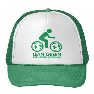 Bike Bicycle Green Trucker Hat