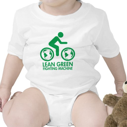 Bike Bicycle Green T Shirts