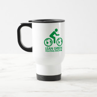 Bike Bicycle Green Travel Mug