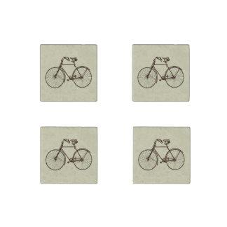 Bike bicycle oatmeal cream brown fridge magnet