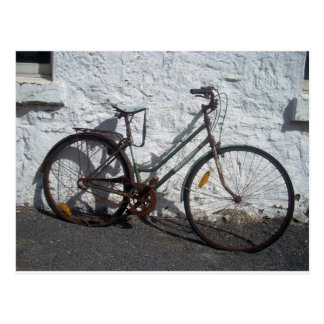 bike bicylce photo postcard