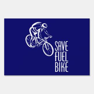 Bike, Biking, Environment Lawn Sign