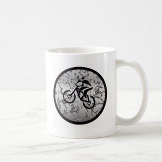 Bike BLACK GREYED Coffee Mug