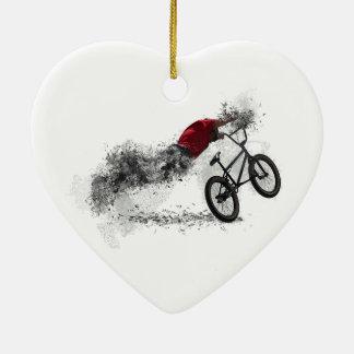 Bike BMX Hobby Ceramic Ornament