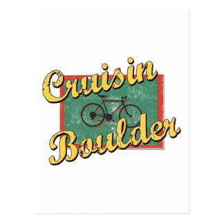 Bike Boulder Bicycle Colorado Postcard