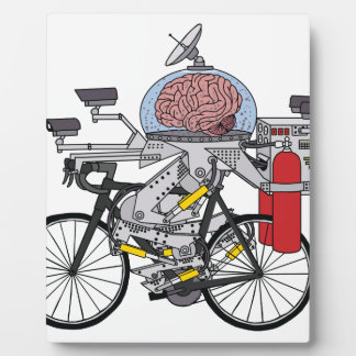 Bike Brain (cyclist of the year 3000) Plaque